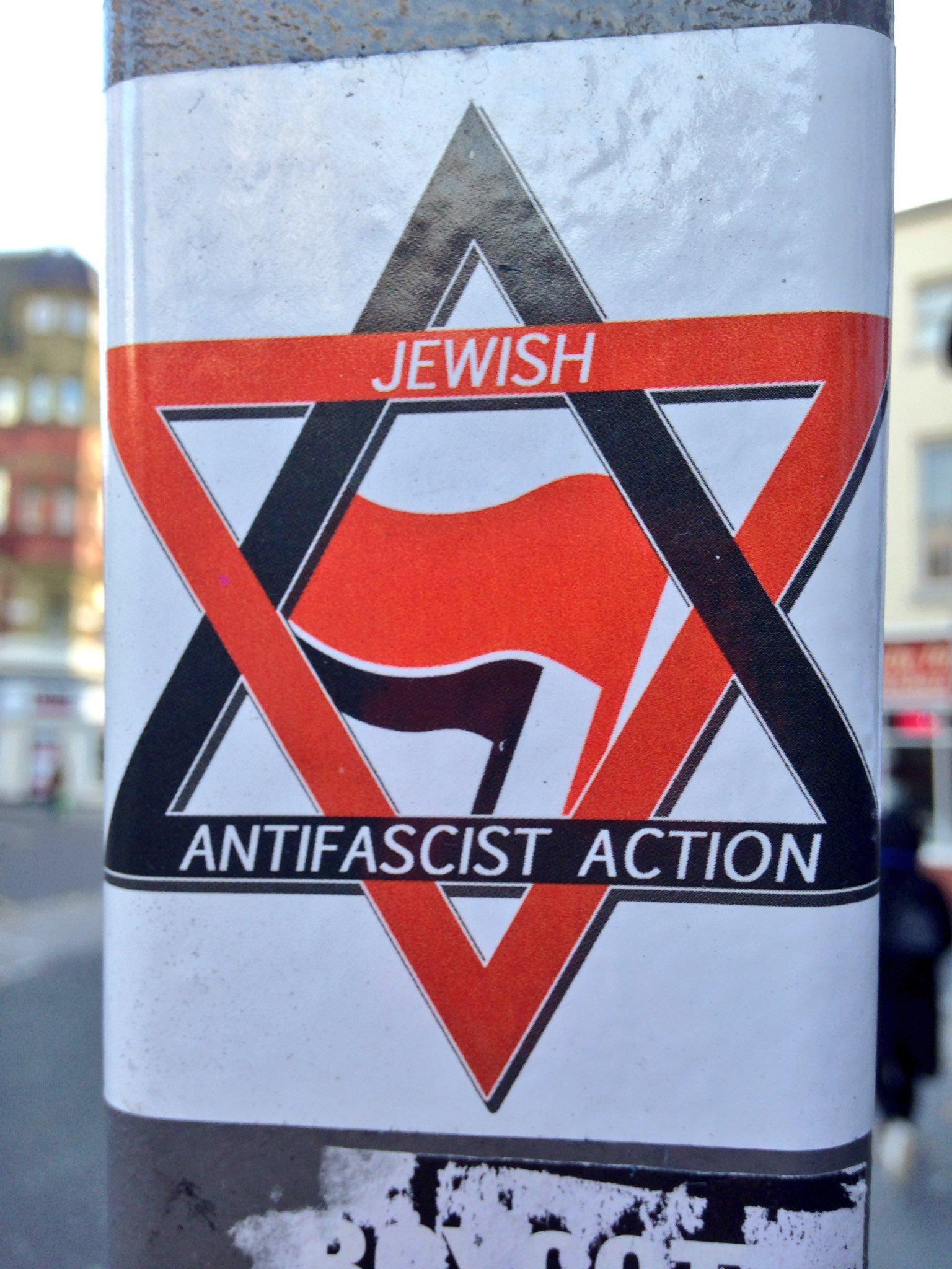 Jewish Antifascist Action Stickers