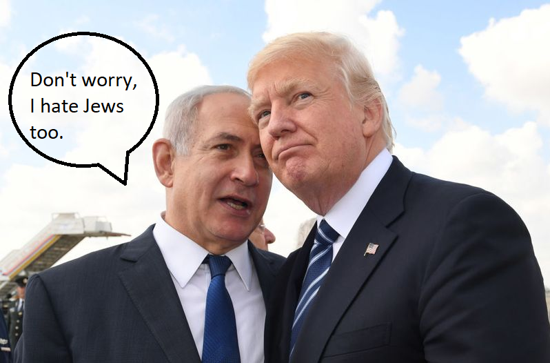 bibi the antisemite
